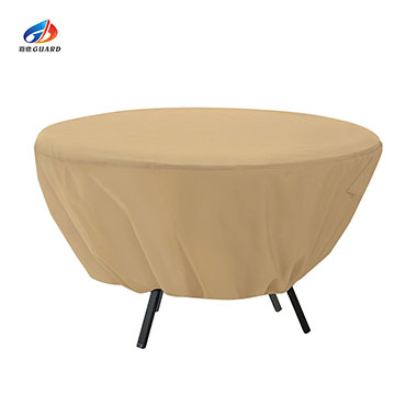 Round Patio Table Cover - All Weather Protection Outdoor Fur