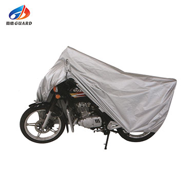 Logo printing locking motorcycle cover