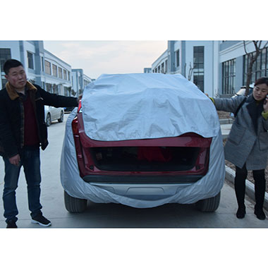 <b>Breathable Universal Fit SUV, Van, and Truck Car Cover Outdo</b>
