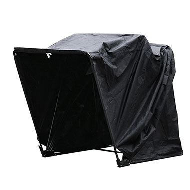 <b>MOTORCYCLE SHELTER</b>