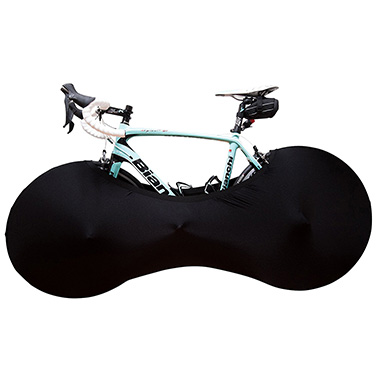 Black Indoor Bicycle Cover by