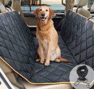 Waterproof Dog Seat Cover Car Back Seat Cover Pad for Pets